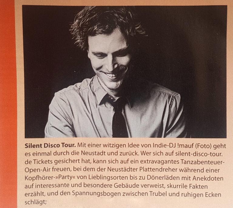 Silent Disco Dresdner Magazin